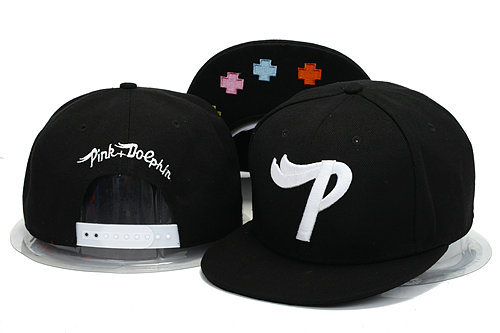 Pink Dolphin Black Snapbacks Hat YS 1 0606